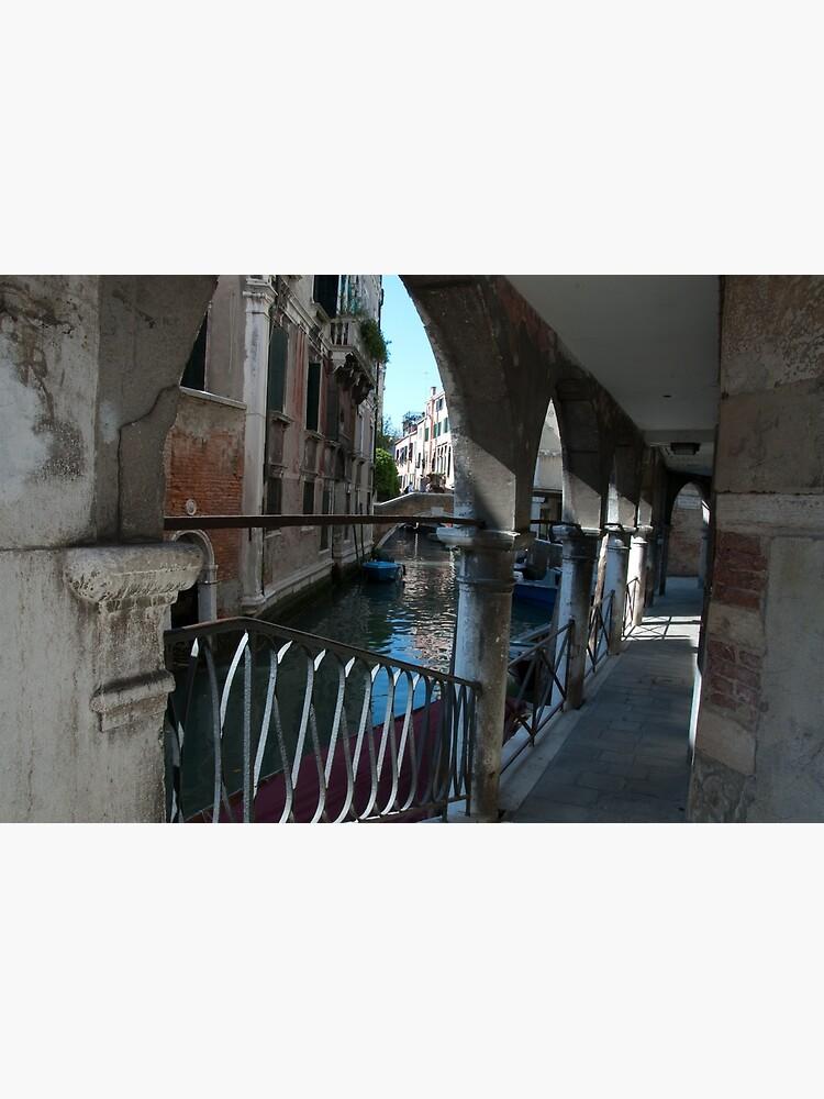 Venice Archways, Italy by leemcintyre