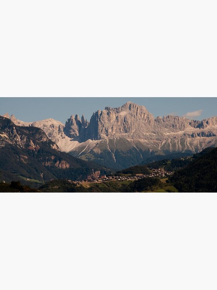 Dolomites, as viewed from Bolzano/Bozen, Italy by leemcintyre