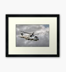 Royal Navy Merlin Framed Print