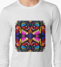 Bird Ornament Long Sleeve T-Shirt
