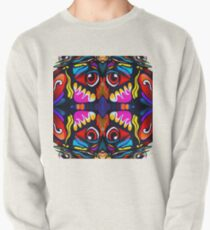 Bird Ornament Pullover Sweatshirt