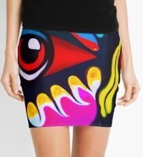 Bird Ornament Mini Skirt