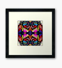Bird Ornament Framed Print