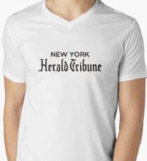 New York Herald Tribune - À bout de souffle Men's V-Neck T-Shirt