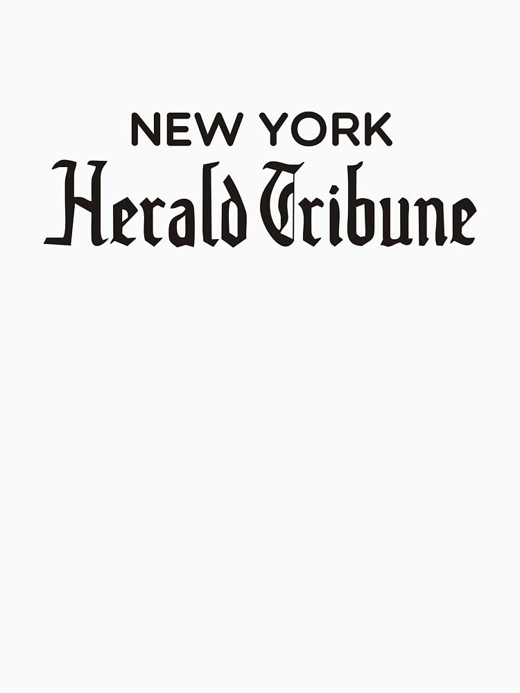 New York Herald Tribune - À bout de souffle by Termister