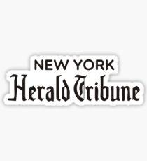 New York Herald Tribune - À bout de souffle Sticker