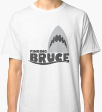 Finding Bruce (Finding Dory inspired horror) Classic T-Shirt