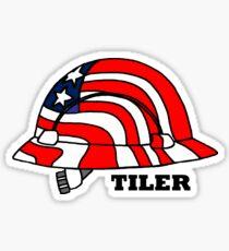 Tile Hard Hat Sticker