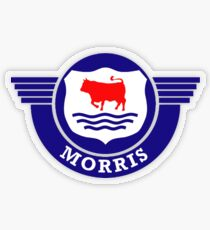 The Mighty Morris Cars Logo Transparent Sticker