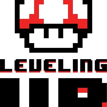 Leveling Up - Mario Mushroom Gym Workout by geekyshop