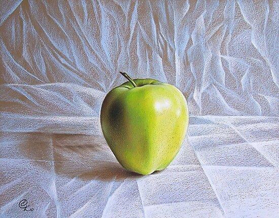 Apple by Elena Kolotusha