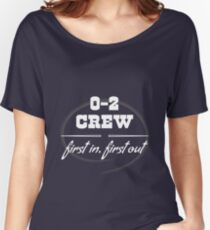 0 and 2 Crew Women's Relaxed Fit T-Shirt
