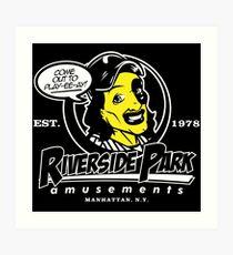 Riverside Park Amusements Art Print