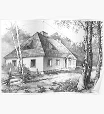Traditional Polish Mansion Poster