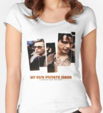 my own private idaho Women's Fitted Scoop T-Shirt