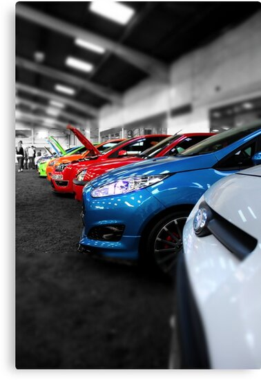 Rainbow of Cars by Vicki Spindler (VHS Photography)