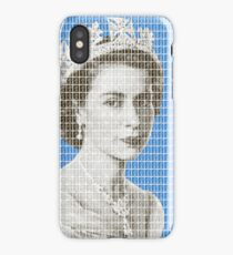 God Save The Queen - Blue iPhone Case/Skin