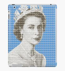 God Save The Queen - Blue iPad Case/Skin