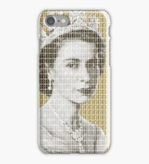 God Save The Queen - Gold iPhone Case/Skin