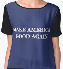 Make America Good Again Women's Chiffon Top