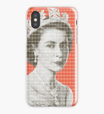 God Save The Queen - Orange iPhone Case/Skin