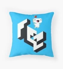 8-Bit Gomez Throw Pillow