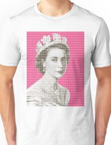 God Save The Queen - Pink Unisex T-Shirt