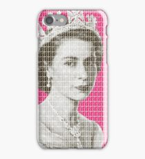 God Save The Queen - Pink iPhone Case/Skin
