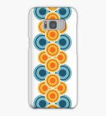 70s Jahre Kreisreihen Samsung Galaxy Case/Skin