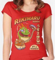 Rikimaru Ramen Hanamuras Best Women's Fitted Scoop T-Shirt