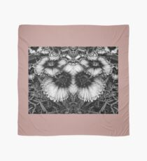 Dianthus Black and White Butterfly Scarf