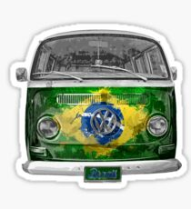 VW BRAZIL Sticker