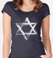 Star of David Women's Fitted Scoop T-Shirt