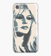 Brigitte Bardot Poster 2 iPhone Case/Skin