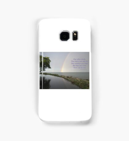 A Song of Rainbows Samsung Galaxy Case/Skin