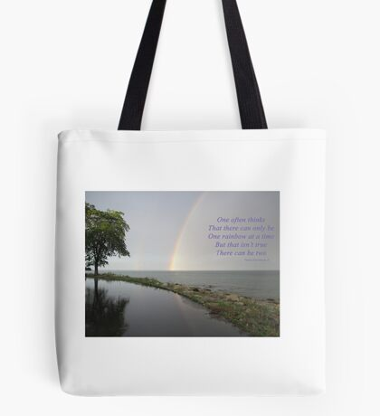 A Song of Rainbows Tote Bag