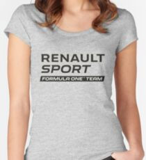 RENAULT SPORT F1 Women's Fitted Scoop T-Shirt