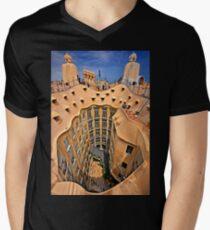 Vertigo on La Pedrera - Barcelona T-Shirt