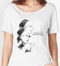 Camiseta ancha para mujer POR FAVOR CONTROLAR SU CARA JJONG!