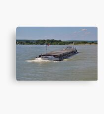 Barge Spero Canvas Print