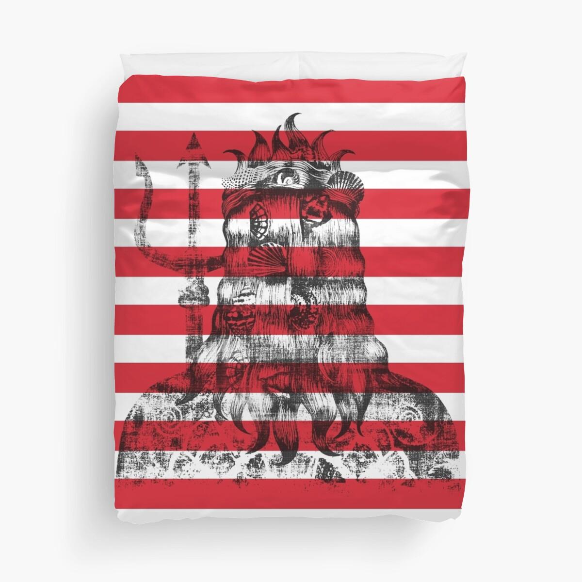 Poseidon Nautical Red by Sandra Dionisi