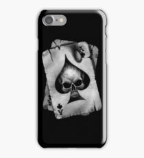 Ace of Skulls  iPhone Case/Skin