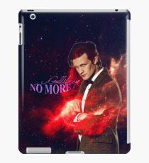 Gallifrey no more iPad Case/Skin