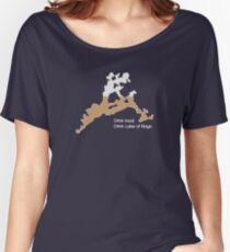 Drink Local, Drink Lake of Bays (Map) Women's Relaxed Fit T-Shirt