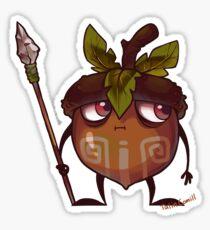 Acorn Warrior Sticker