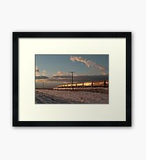 The Magnificent Shining Freight Train #4 Framed Print