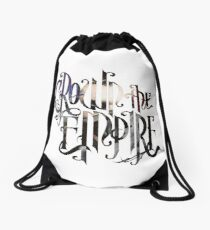 "Crown The Empire ""The Resistance: Rise of the Runaways"" Logo Drawstring Bag"