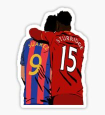 Suarez and Sturridge - Reunited Sticker