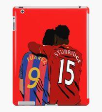 Suarez and Sturridge - Reunited iPad Case/Skin