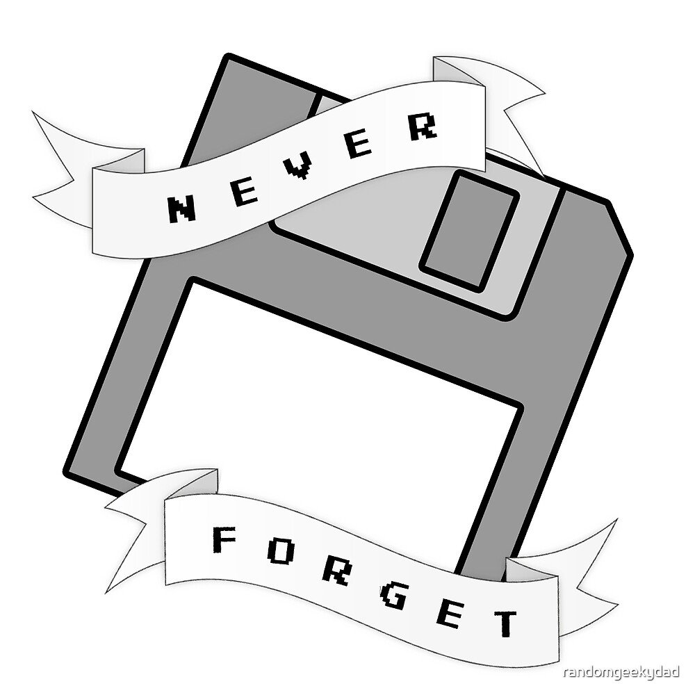 Floppy Disc - Never Forget by randomgeekydad